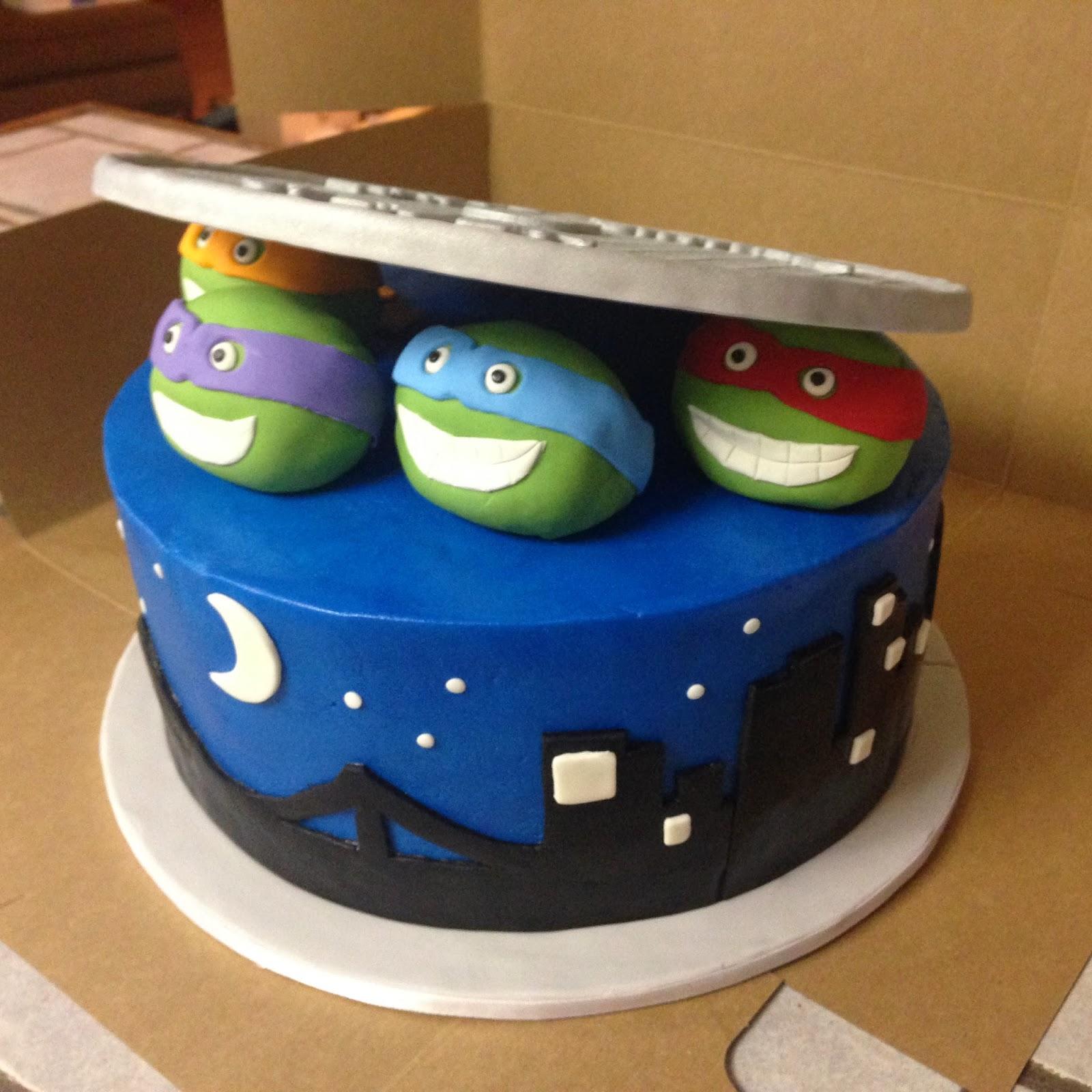 Cakes By Mindy Teenage Mutant Ninja Turtles Cake 10 Quot