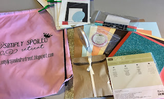 This is the Weekend Getaway Retreat Goody Bag!  #stampinup #stamptherapist www.stampwithjennifer.blogspot.com