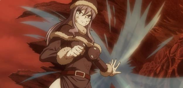 Karakter Anime Pengguna Kekuatan Elemen Air Terkuat Juvia Lockser ( Fairy Tail )