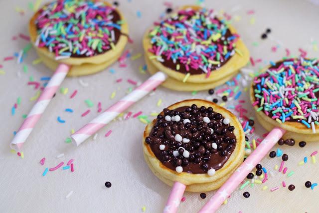 Προετοιμασία για Pancakes με Σοκολάτα για Παιδικό Πάρτυ