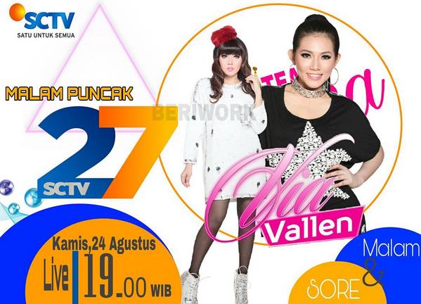 jadwal konser Via Vallen di SCTV