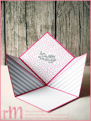 Stampin' Up! rosa Mädchen Kulmbach: Geburtstagskarte mit Perfekter Geburtstag