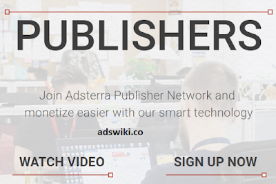 adsterra ad network for publishers worldwide