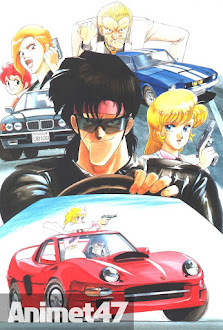 Riding Bean - Anime Riding Bean 1989 Poster