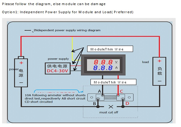 Arduino Uno Projects And Tutorial How To Use Dc 0 100v 10a Digital Voltmeter Ammeter For Arduino And Example