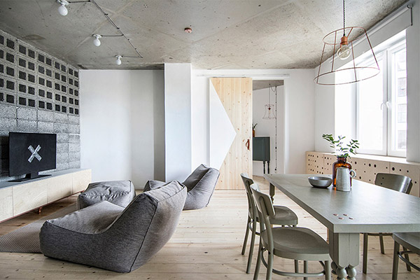 d coration diy dans un appartement scandinave blog d co mydecolab. Black Bedroom Furniture Sets. Home Design Ideas