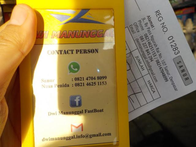Tiket Fastboat Nusapenida