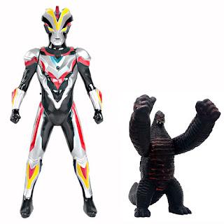 Ultraman Victory Toys 34cm vs Redking
