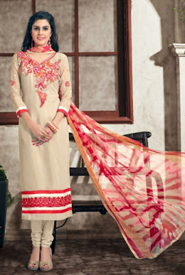 Make fashionable addition to your wardrobe with designer collection of Women's Salwar Suits.