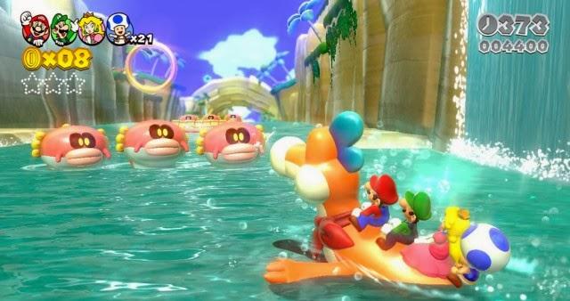 Super Mario 3D World (Wii U) é o jogo tridimensional do Mario que menos  vendeu na semana após o lançamento no Japão - Nintendo Blast be3e18b7e3