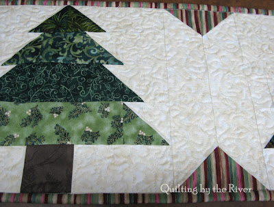 Quilting on runner