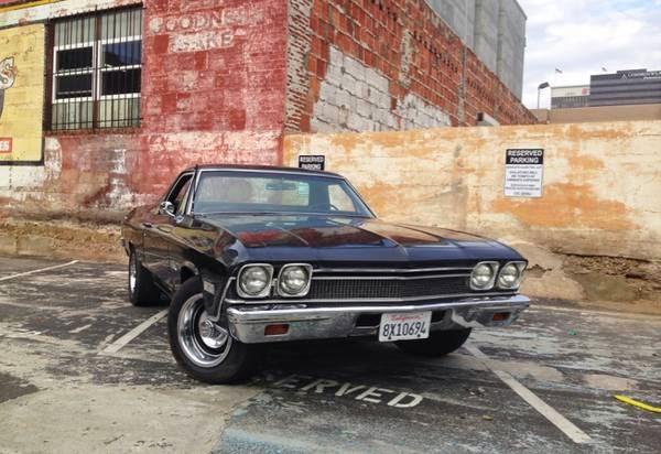 1968 chevy el camino for sale buy american muscle car. Black Bedroom Furniture Sets. Home Design Ideas