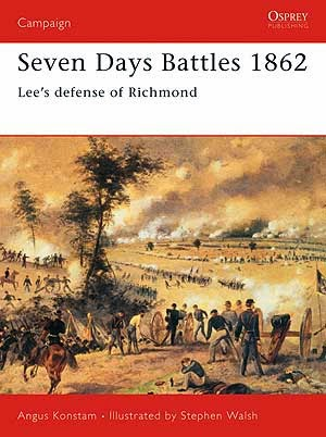 Seven Days Battles 1862 Lee's defense of Richmond