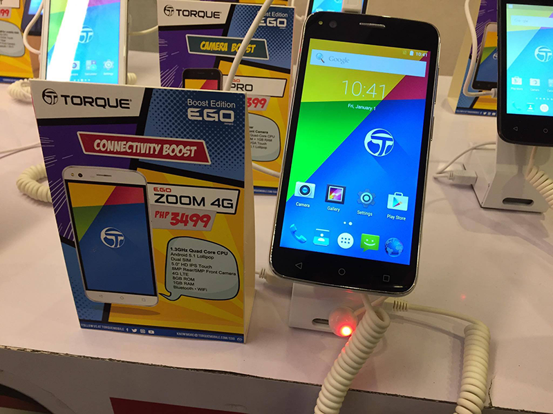 Torque Ego Zoom 4G Announced, Budget LTE Phone For PHP 3499!