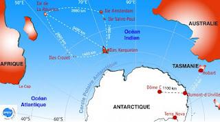 Territoires australes de la France et ses zones économiques!