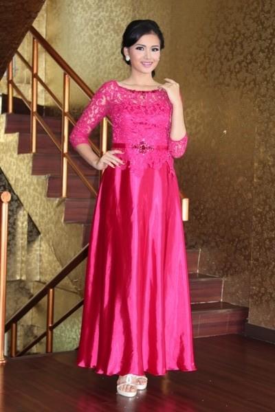 Contoh Gaun Kebaya Modern Anak Muda