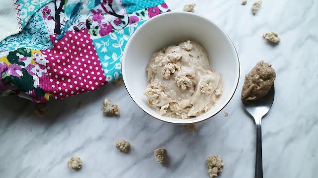 Banana, Cookie Dough, Quick, Cheap, Easy, Simple, Nice Cream, homemade, Recipe
