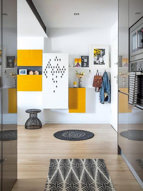Armonie între modern și contemporan, neutru și colorat