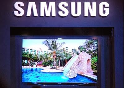 Televisor Samsung de última tecnología