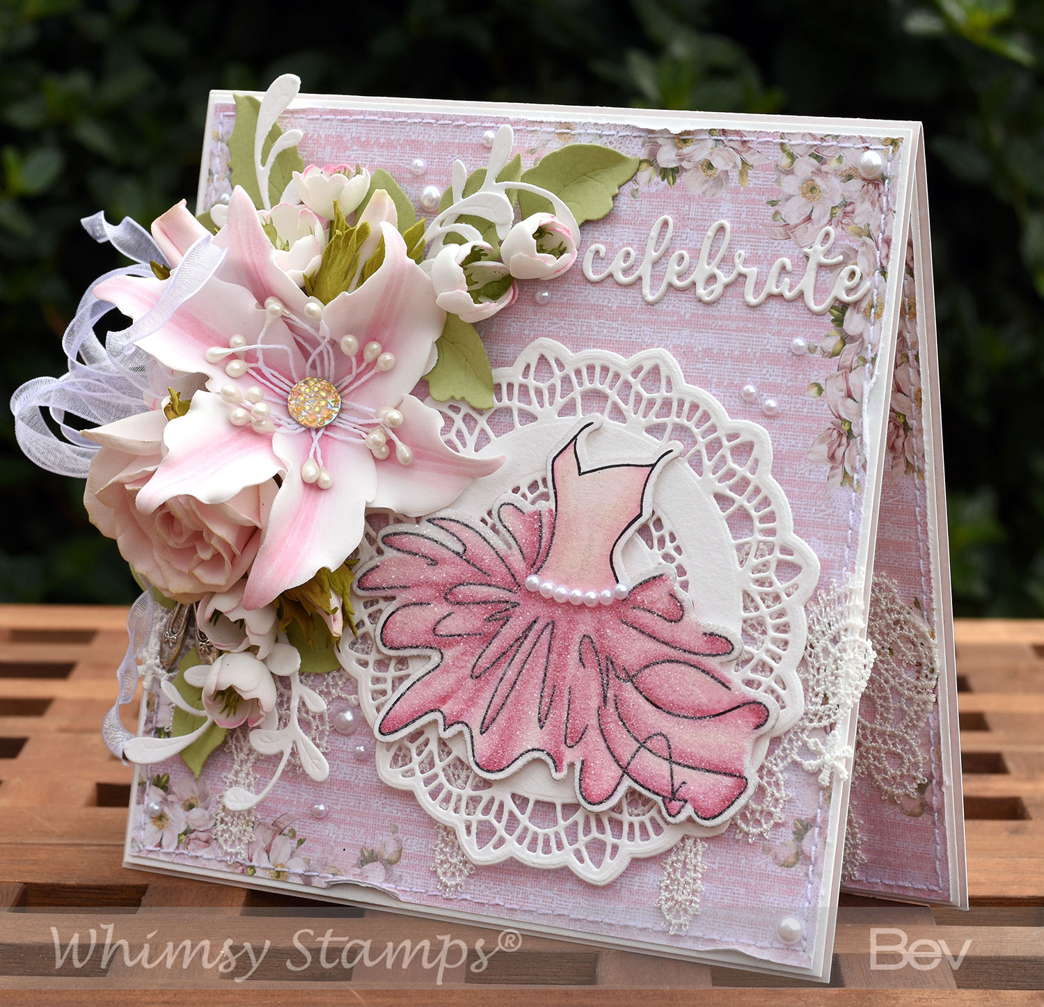 Whimsy Stamps Lily Flower 이미지 검색결과