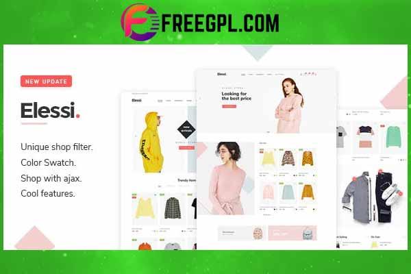 Elessi - WooCommerce AJAX WordPress Theme Free Download