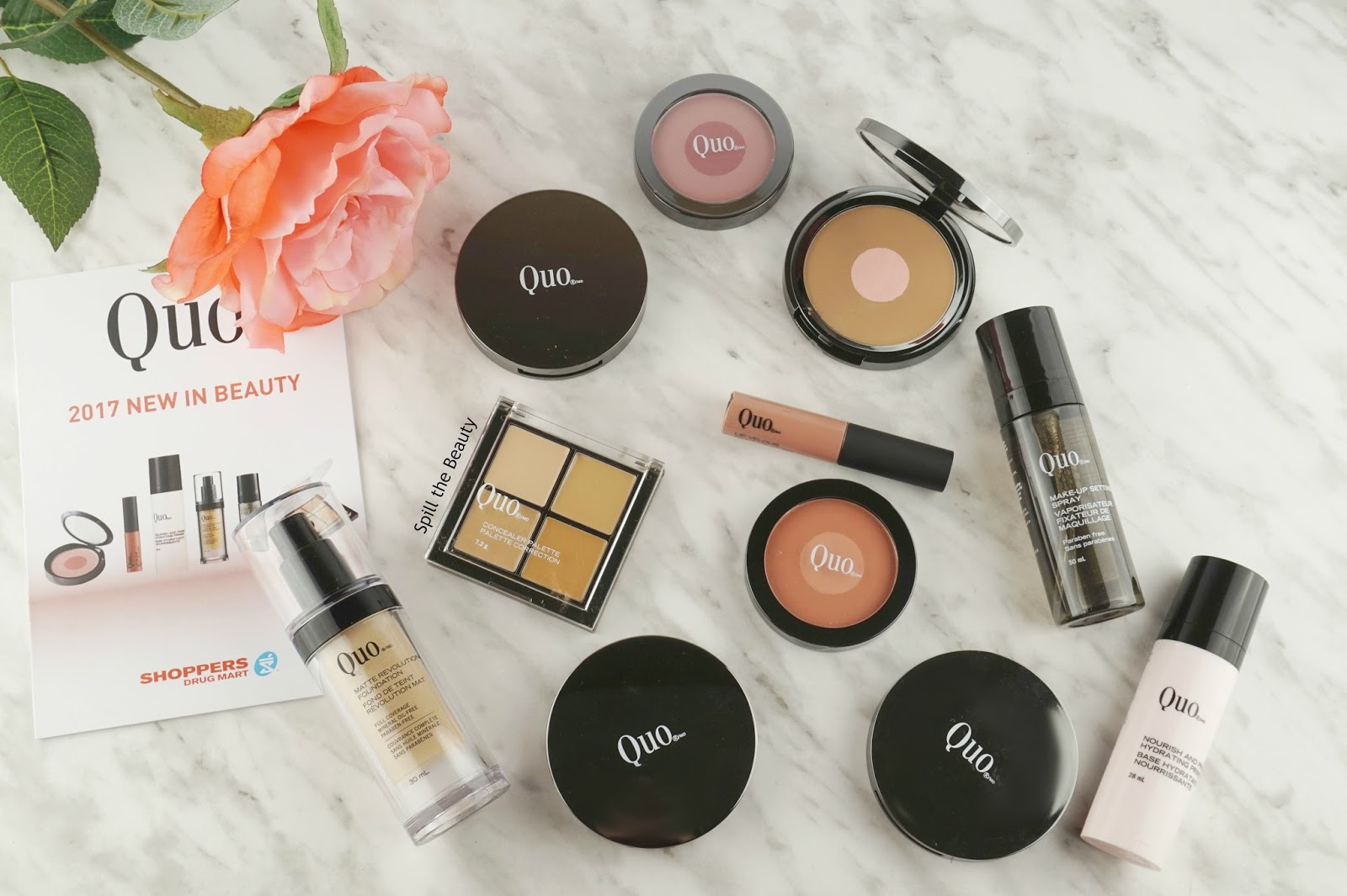 Quo 2017 Beauty Products – Review, Swatches, and Look
