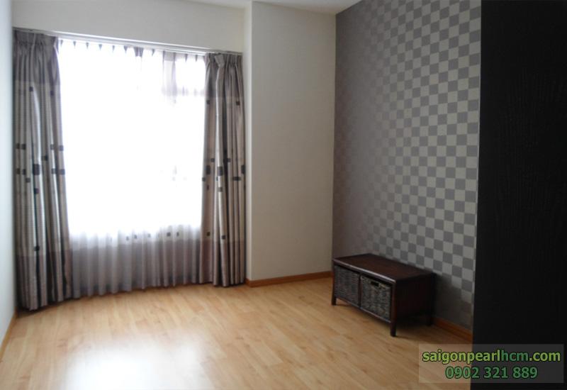 phòng ngủ trống nội thất tại căn hộ saigon pearl BÁN 136m2