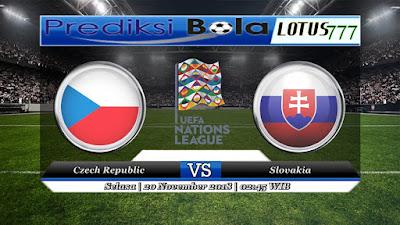 Prediksi pertandingan Czech Republic vs Slovakia 20 November 2018