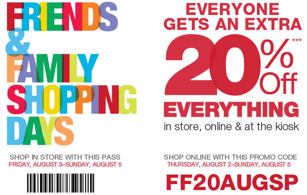 photograph about Modell Printable Coupons identify Modells coupon printable 20 off : Ma ys