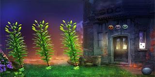 Three Puzzle Plants Escape Solución