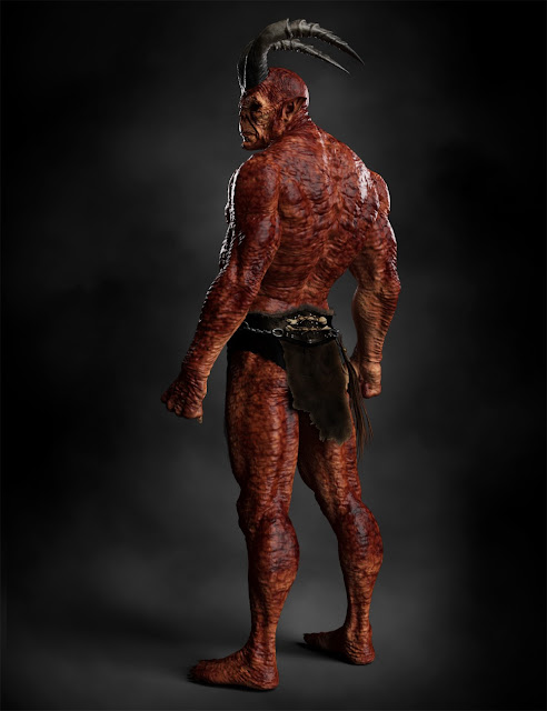 Demon HD for Genesis 8 Male