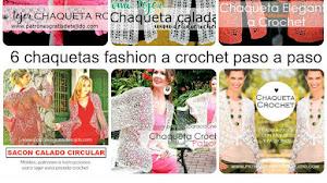 6 Chaquetas para tejer a crochet / Tutoriales y patrones