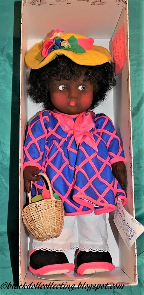 new product 5f5b8 d52cb Black Doll Collecting: Floria by Anili