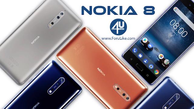 نوكيا تطلق هاتفها الذكي الرائد Nokia 8 إليكم السعر والمواصفات