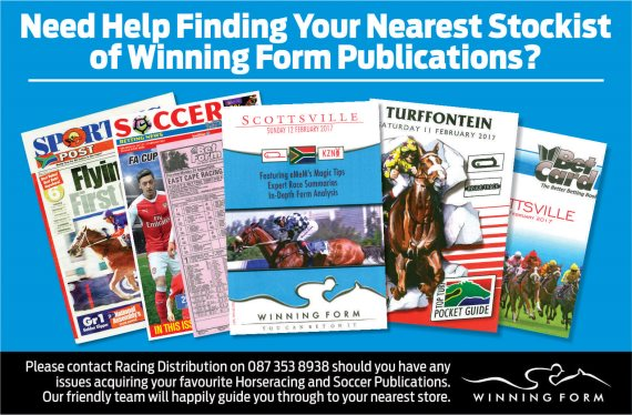 Need Help Finding Your Nearest Stockist of Winning Form Publications? - Sporting Post, Soccer Betting News, SBN, Top Turf, Bet Card