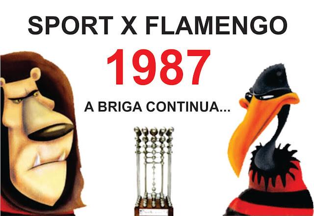 Resultado de imagem para FLAMENGO X SPORT 87