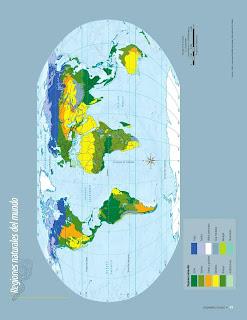 Apoyo Primaria Atlas de Geografía del Mundo 5to. Grado Capítulo 2 Lección 4 Regiones Naturales del Mundo