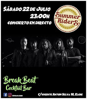 Concierto de Summer Riders en el Break Beat Cocktail Bar