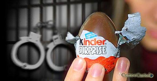 Por que o Kinder Ovo é proibido nos Estados Unidos