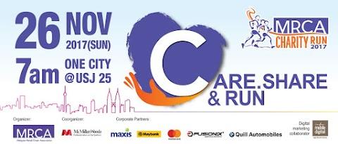 Karnival Larian Amal MRCA 2017 Sasarkan RM100 Ribu Untuk Rumah Kebajikan