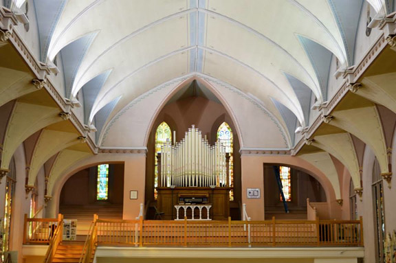 Concert July 31 to celebrate 10th anniversary of organ at Keweenaw Heritage Center