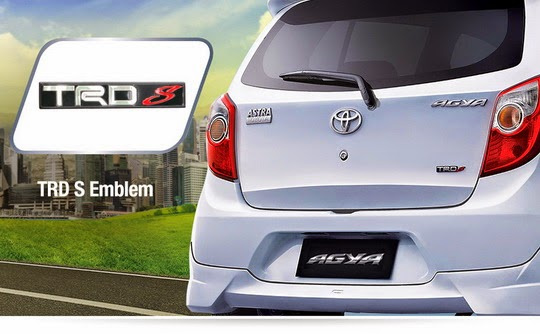 Spesifikasi New Agya Trd Stop Lamp Grand Avanza Eksterior Toyota Tipe E, G, S Manual Matic Baru ...