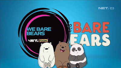 We Bare Bears di NET Toon