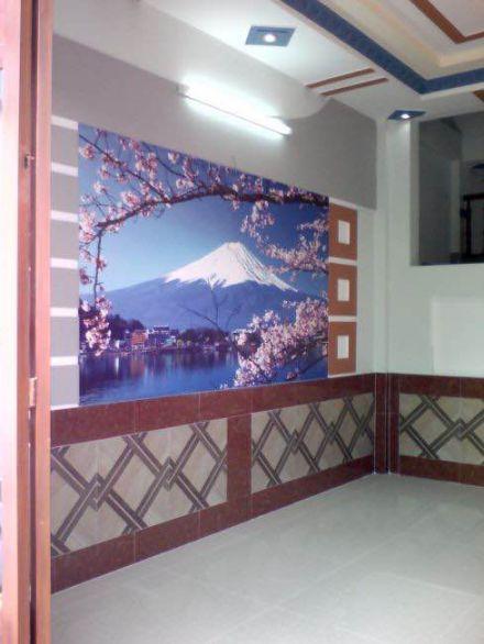 Tường nhà trang trí tranh phong thủy đẹp
