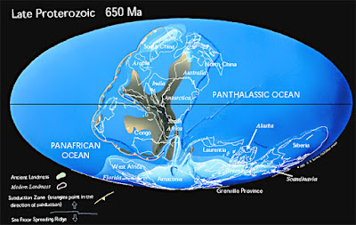 Researchers define links within two supercontinents
