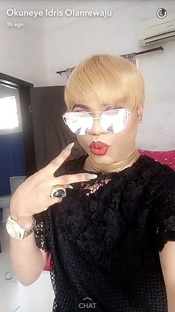 Lagos-based gay Bobrisky is now rocking Rihanna hairstyle