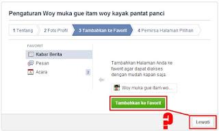 Cara Membuat Kode Jebakan Lucu di Facebook 6