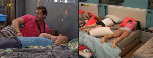 O primeiro acordar no Big Brother Vip (video)