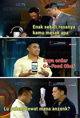 Meme MasterChef Indonesia 2019 - GO-Food