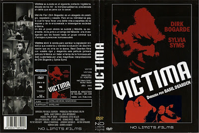 Cover, dvd, caratula:  Victima | 1961 | Victim